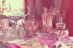Candy buffet baby shower