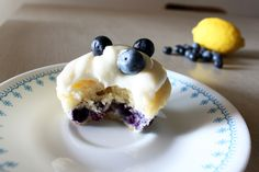 Blueberry Lemon Cupcakes with Lemon Cream Cheese Icing