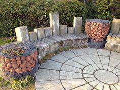 gabion | this is an example of a gabion made by just