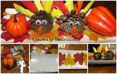 Kids DIY ~ Thanksgiving Centerpiece