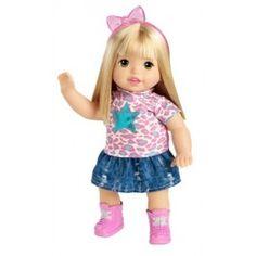 Little Mommy Sweet As Me Kitty Rock Doll