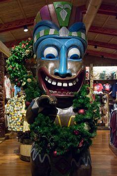 Christmastime at Disney's Polynesian Resort