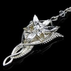 Lord of the Rings Arwen Evenstar Pendant Necklace solid 925 Sterling Silver