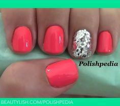 Hot Pink Dance Party Nails! | Polishpedia X.'s (polishpedia) Photo | Beautylish