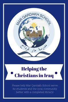 Please help! It means a lot to the Christians in Iraq! More details in post!