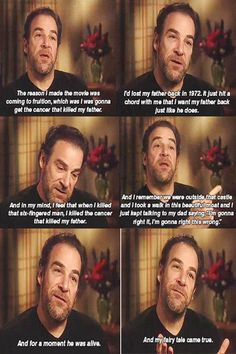 Mandy Patinkin on his role as Inigo Montoya