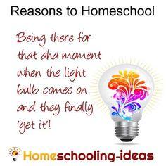 Reasons to Homeschool from www.homeschooling-ideas.com
