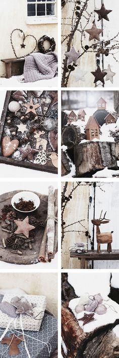 Adornos de Navidad de estilo escandinavo | Scandinavian Christmas tree ornaments
