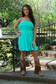 Butterfly Kisses Dress in Mint $46.99 #SouthernFriedChics