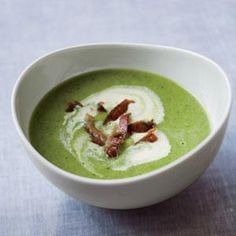 Chilled Spring Pea Soup