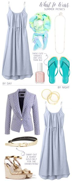 What To Wear: Summer Picnics
