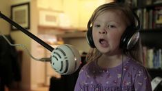 "Maddie and Zoe sing ""Let it Go"" from Frozen. The most adorable little girls ever."