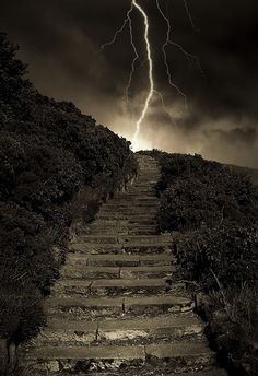 Arthur's Stormy Steps by Semi-detatched on Flickr.  Taken in Conongate, Edinburgh, Scotland, GB