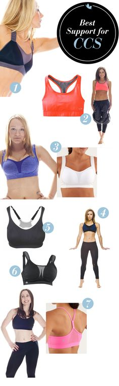 A great sports bra should prevent excess movement, soreness, and discomfort during the most intense CCS. Here are a few of our favorites!