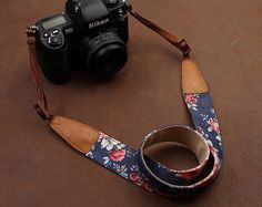 SLR Camera Strap  Canon/Nikon Camera Strap  DSLR by LeslieStudio, $29.99