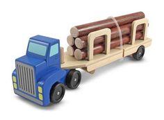 Log carrier toy vehicl, log transport, logs, wooden toys, car toy, log truck, log carrier, toy log