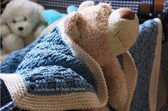 basketweave blanket crochet