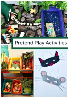 Pretend Play Activities for Kids