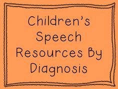 EBP articles/resources with filled with specific infor re: the Dx