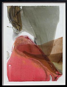 Ellen Koment, Encaustic, Dry Pigment  on paper