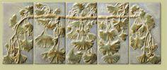 Terra Firma Handmade Stoneware Tile, Handmade Tiles, Fireplace Tiles, Backsplash Tiles