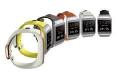 The Samsung Galaxy Gear 2 Displays at CES 2014 #smartwatches trendhunter.com