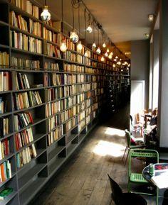 salon, book cafe, pari, librari, bookshop cafe