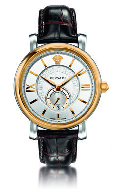 The understated elegance of the new Urban Gent watch is a perfect mixture of classic and contemporary. Personalized with the Medusa and Greca key decorations, this watch reflects the tenets of a sophisticated styling. #Versace #VersaceWatches