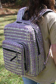 sandylandya@outlook.es  My pop tab backpack... because having a normal backpack is boring! :) by Sarabeth Uriz