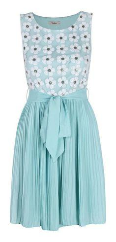 Cute, Sky Blue Dress by Darling
