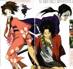 Fuu, Mugen, Jin #anime #samuraichamploo
