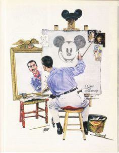 "Walt Disney ""Rockwell"""