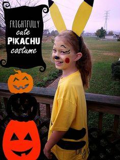 Pikachu DIY Halloween Costume