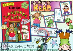 'Kidoodlez: 'Language Arts' has over 300 clip art images & ready-made projects to help you teach reading, writing, poetry, parts of speech & more! Save 20% when you buy this week (CD or download)!