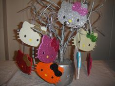 Hello Kitty ornaments  loveshappyhour.blogspot.com