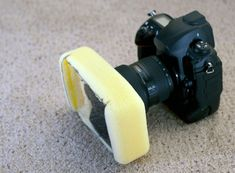 Make a DIY Filter Adapter for Your Lens Using a Large Sponge