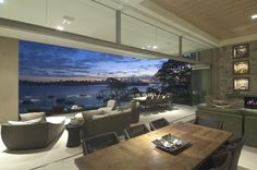 This is such a gorgeous house with beautiful views in Sydney, Australia