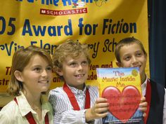 Scholastic's Kids Are Authors is a national book-writing contest open to students in grades K–8.  Since its inception in 1986, the contest has encouraged thousands of children to write and illustrate books.