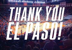 What a great game by two great teams! Our UTEP Women's Basketball team made us proud this season. Thank you El Paso for your support and selling out the Don Haskins Center twice! GO MINERS!