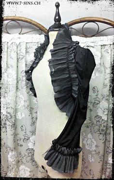 Silent Crow Bolero. $214.00, via Etsy.