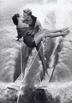 Water Ski Kiss!