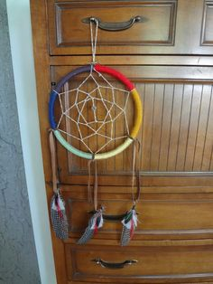 Tutorial: Rainbow Dreamcatcher | The Serendipity