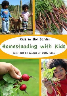 Homesteading with kids, teaching self-sufficiency to preschoolers {theeducatorsspinonit}