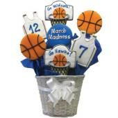 basketball players, cooki idea, basketball cookies, cooki decor, cookie gifts, sport, gift idea, basketbal cooki, decor cooki