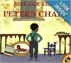Peter's Chair (Picture Puffins): Ezra Jack Keats: 9780140564419: Amazon.com: Books