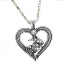 heart, life, boyfriend, stuff, marin girlfriend, necklac, semper fi, usmc, jewelri