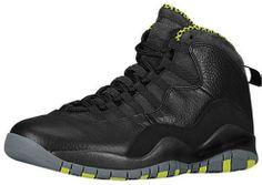 Pre Order 310805-033 Air Jordan 10 Black Cool Grey Anthracite Venom. http://www.newjordanstores.com/