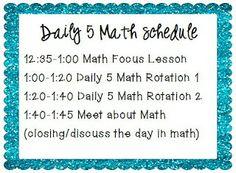 Daily 5 Math grade math, classroom, math lesson, math centers, math rotations, daily math, math daili, daily 5 math, second grade
