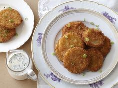Fried Green Tomatoes from FoodNetwork.com