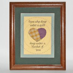 Calligraphy With Heart from Antique Quilt Double by sssstudio, $14.50  -for those who love quilts!!!